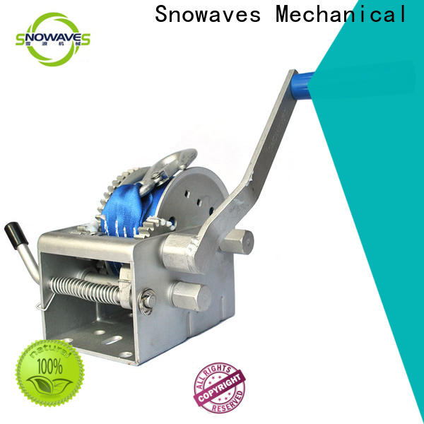 Snowaves Mechanical winch marine winch suppliers for picnics