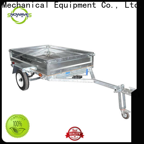 Snowaves Mechanical New fold up trailer for business for one-way trips