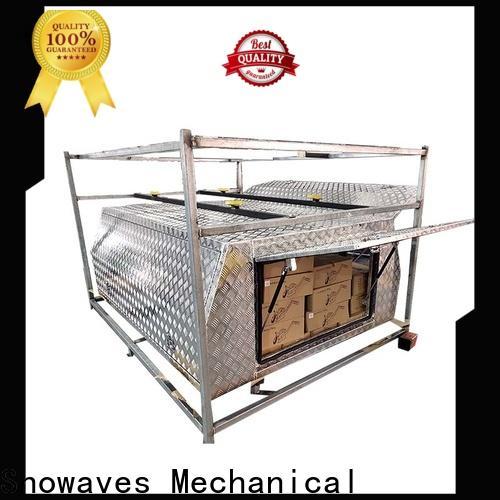 Snowaves Mechanical Best aluminium tool box for sale for picnics