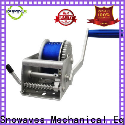 Snowaves Mechanical Latest marine winch suppliers for one-way trips