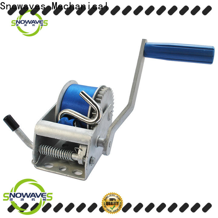 Snowaves Mechanical single manual trailer winch for business for car