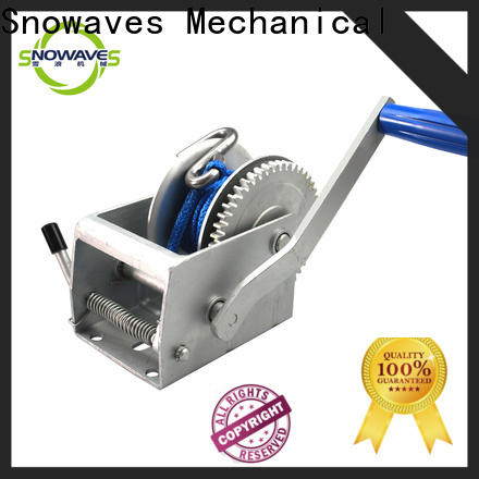 Snowaves Mechanical pulling boat hand winch supply for outings
