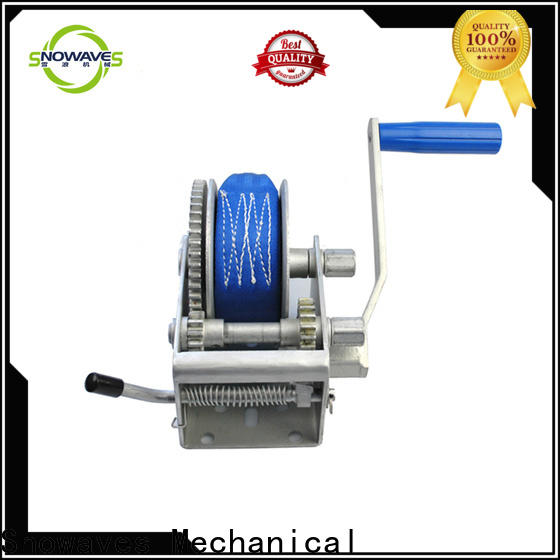 New manual trailer winch single company for camping