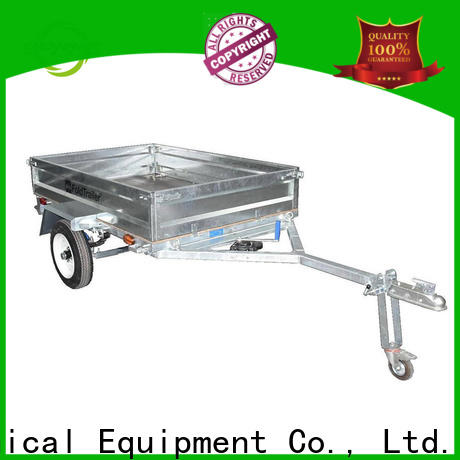 Snowaves Mechanical data foldable trailer for business for activities