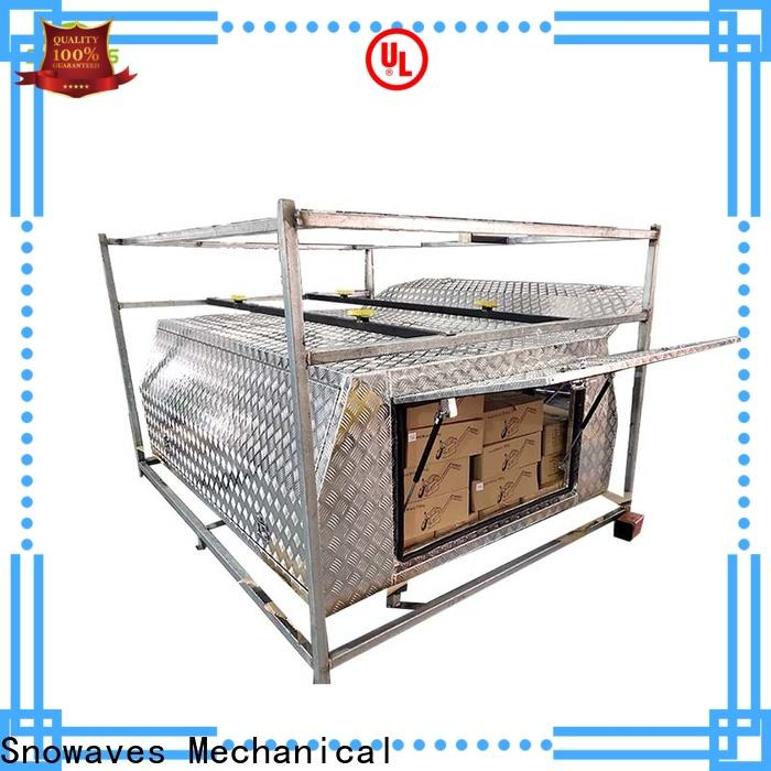 Snowaves Mechanical pickup aluminum truck tool boxes for sale for camping