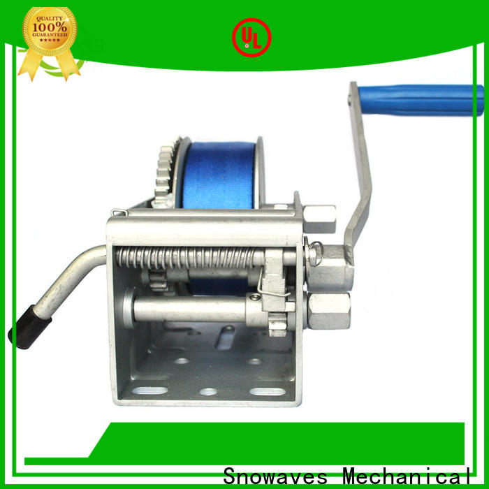 Snowaves Mechanical Wholesale marine winch company for trips
