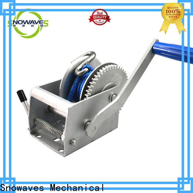 Snowaves Mechanical manual winch for business for camping