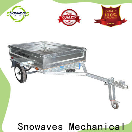 Snowaves Mechanical forward fold up trailer manufacturers for activities