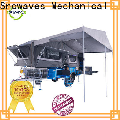 Snowaves Mechanical Wholesale foldable trailer manufacturers for one-way trips