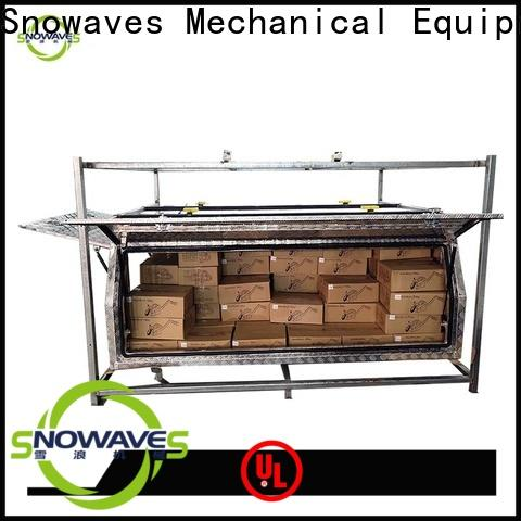 Snowaves Mechanical New aluminum truck tool boxes factory for camping