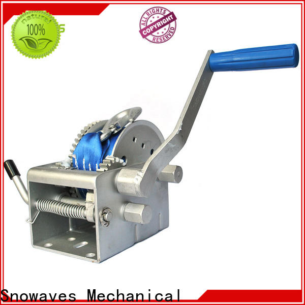 Snowaves Mechanical High-quality marine winch for business for camping