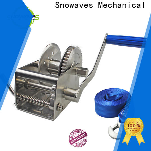 Snowaves Mechanical marine winch for sale for one-way trips