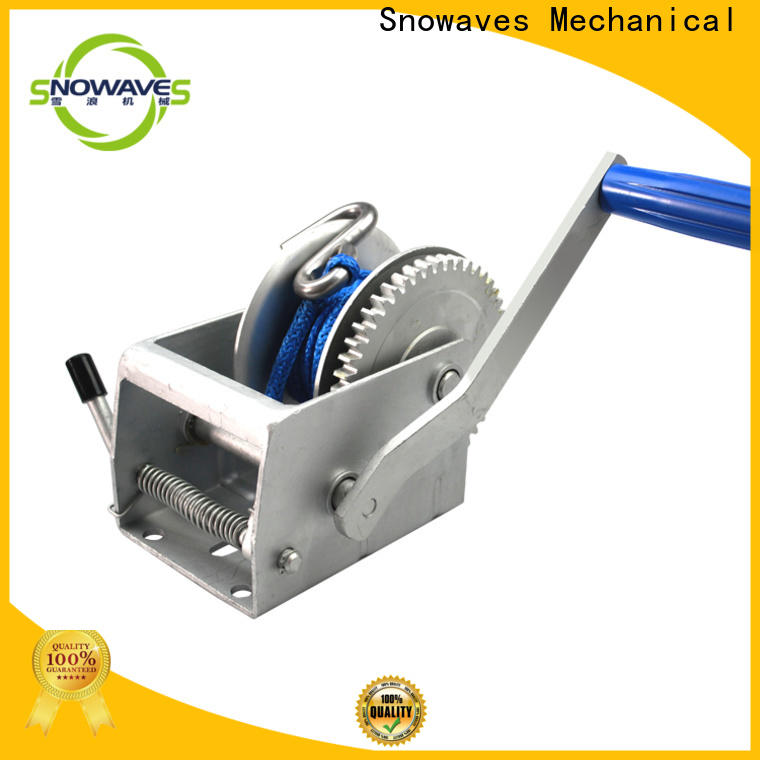 Snowaves Mechanical Top manual trailer winch supply for outings