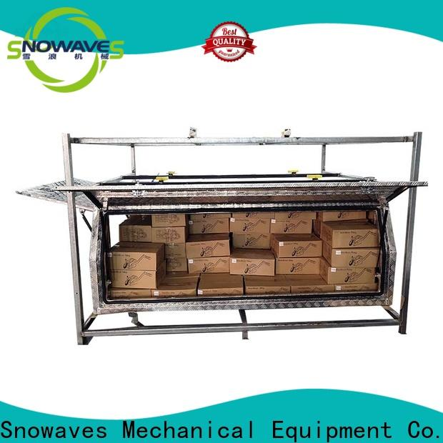 Snowaves Mechanical New aluminum truck tool boxes for business for camping