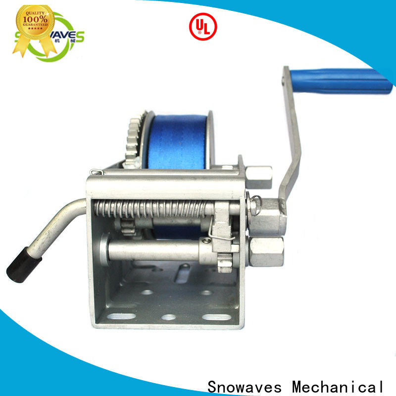 Snowaves Mechanical Top marine winch for sale for picnics