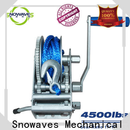 Snowaves Mechanical Best marine winch suppliers for trips