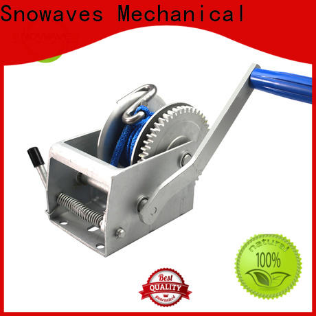 Snowaves Mechanical Wholesale manual winch suppliers for boat