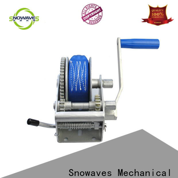 Snowaves Mechanical High-quality manual trailer winch suppliers for camping
