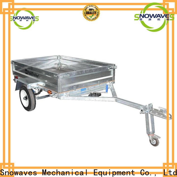 Custom folding trailers trailer company for one-way trips