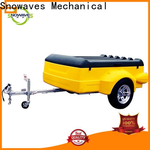 Snowaves Mechanical Wholesale plastic utility trailer factory for no cable