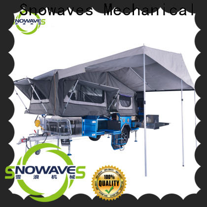 Snowaves Mechanical Wholesale folding trailers company for activities