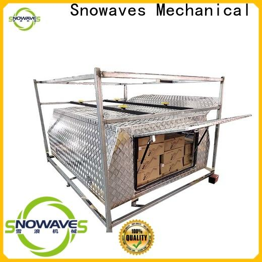 Snowaves Mechanical New aluminum truck tool boxes for sale for boat