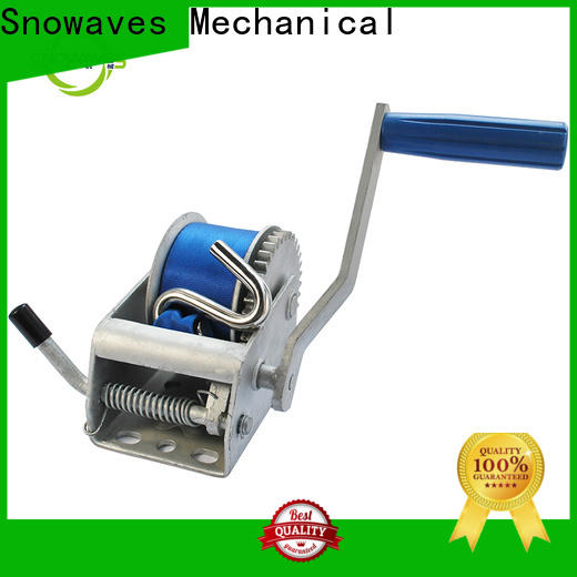 Snowaves Mechanical High-quality manual winch for sale for picnics