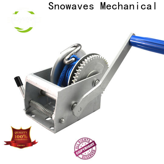 Snowaves Mechanical Wholesale manual winch for business for picnics