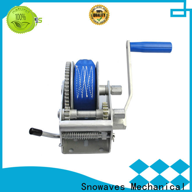 Snowaves Mechanical hand manual winch company for camping