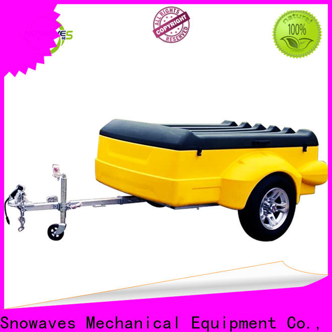 Snowaves Mechanical New luggage trailer for sale for no cable