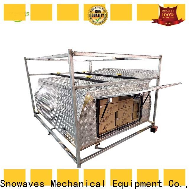 Snowaves Mechanical Top aluminum trailer tool box manufacturers for picnics