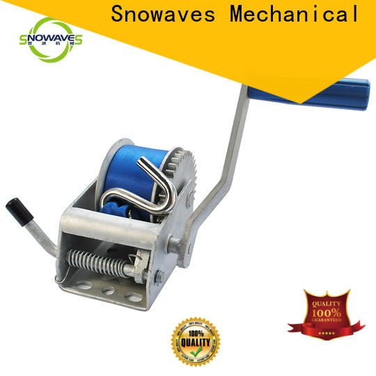 Custom manual trailer winch for sale for car