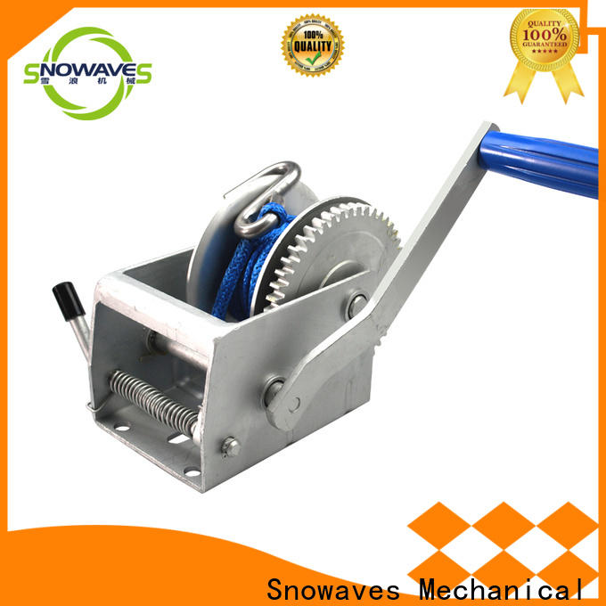 Snowaves Mechanical Wholesale hand winches for business for outings