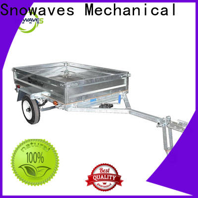 Snowaves Mechanical technical folding trailers manufacturers for accident