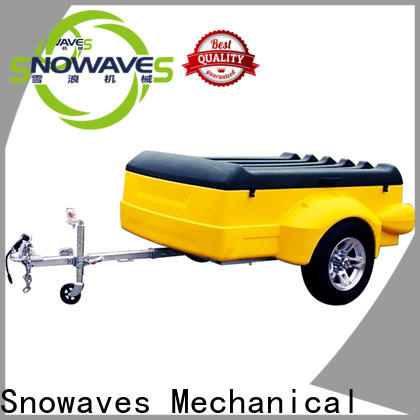 New plastic utility trailer lldpe supply for webbing strap