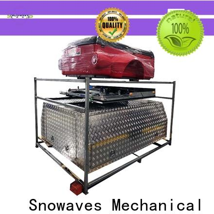 Snowaves Mechanical tool aluminum trailer tool box for business for camping