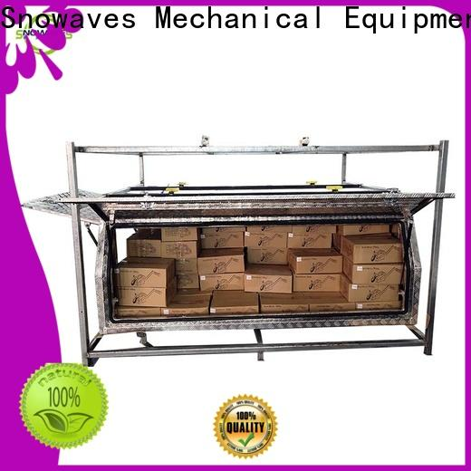 Snowaves Mechanical High-quality aluminum trailer tool box for business for car