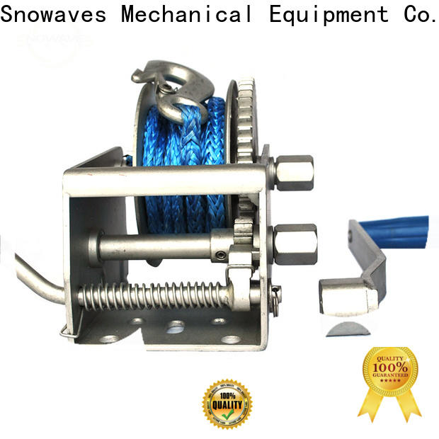 Snowaves Mechanical marine winch manufacturers for picnics