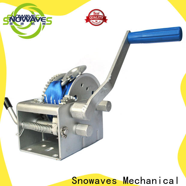 Snowaves Mechanical pulling marine winch for business for one-way trips