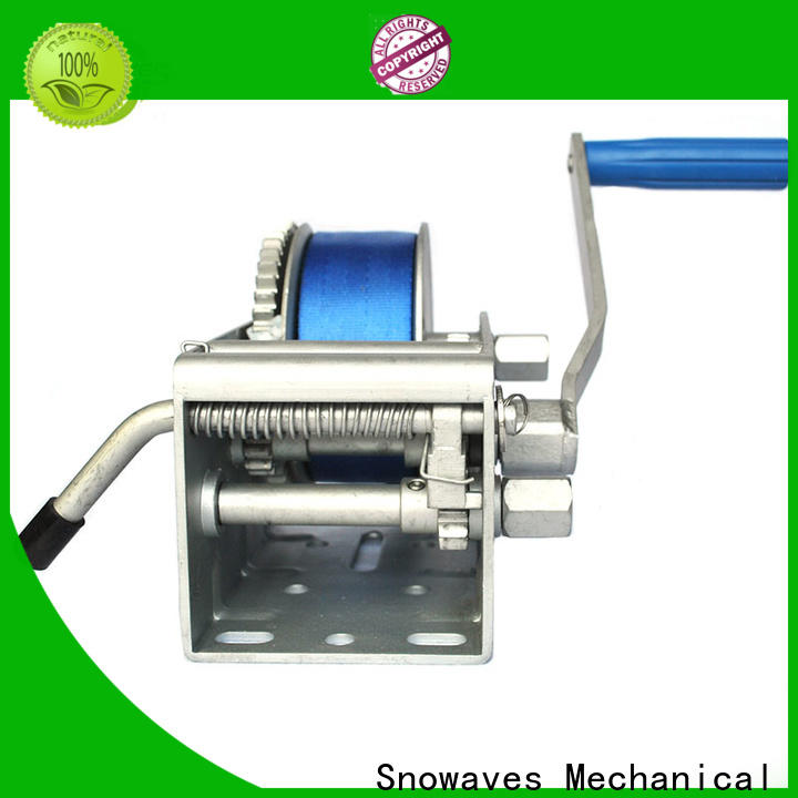 Snowaves Mechanical Best marine winch factory for trips
