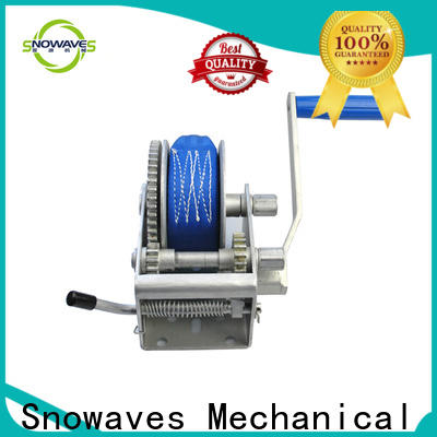 Snowaves Mechanical manual trailer winch manufacturers for camping