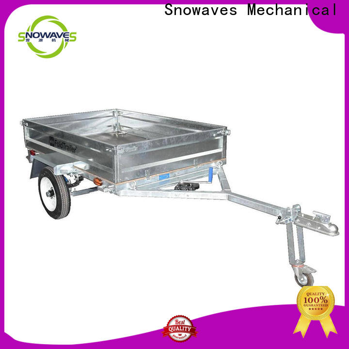 Snowaves Mechanical camper fold up trailer suppliers for camp