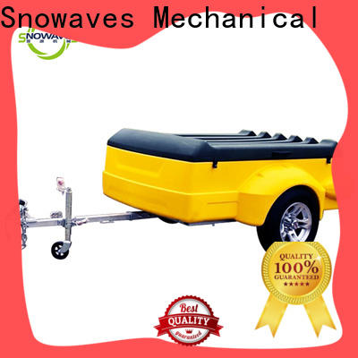 Snowaves Mechanical Wholesale luggage trailer company for outdoor activities