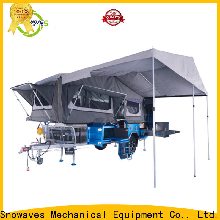 Snowaves Mechanical Best foldable trailer manufacturers for activities