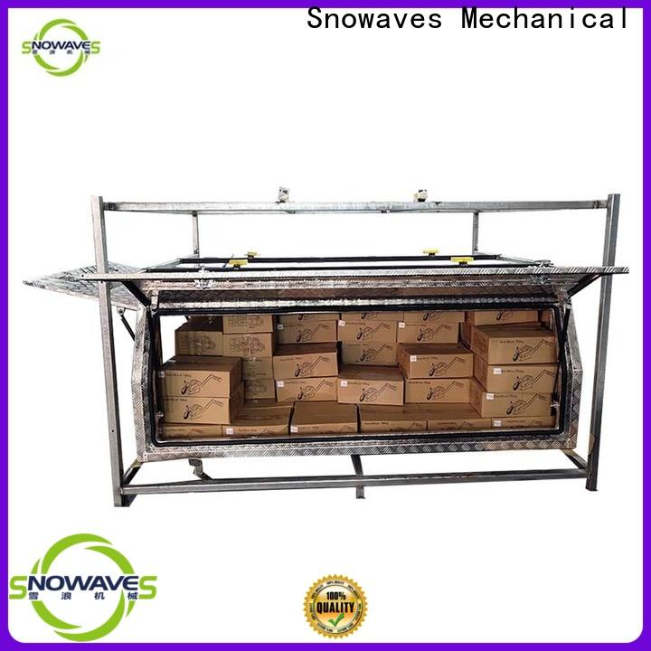 Snowaves Mechanical boxes aluminum truck tool boxes for business for boat