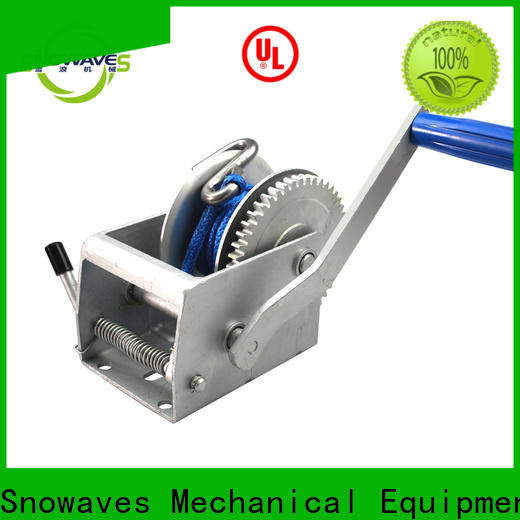 New manual trailer winch single supply for outings