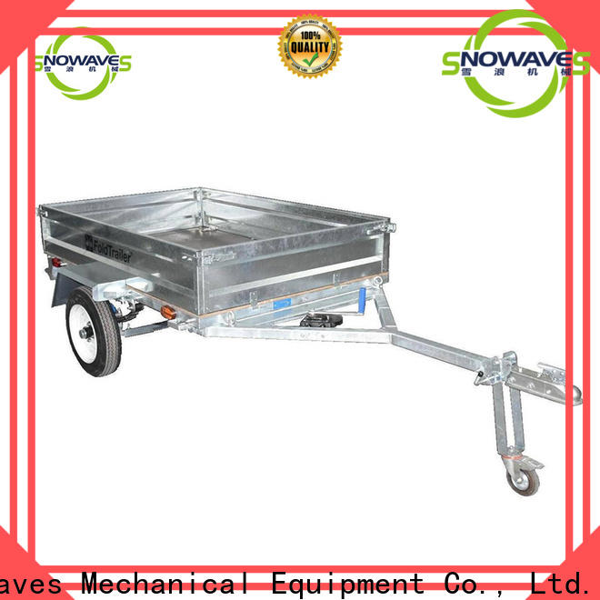 Snowaves Mechanical folding foldable trailer for business for activities