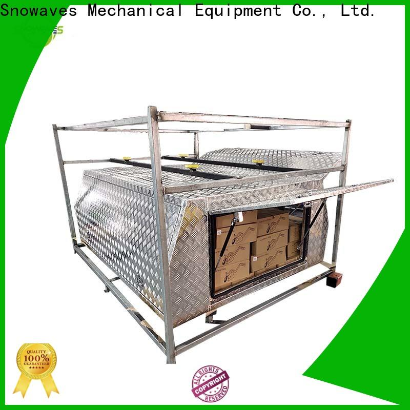 New custom aluminum tool boxes tool for sale for car