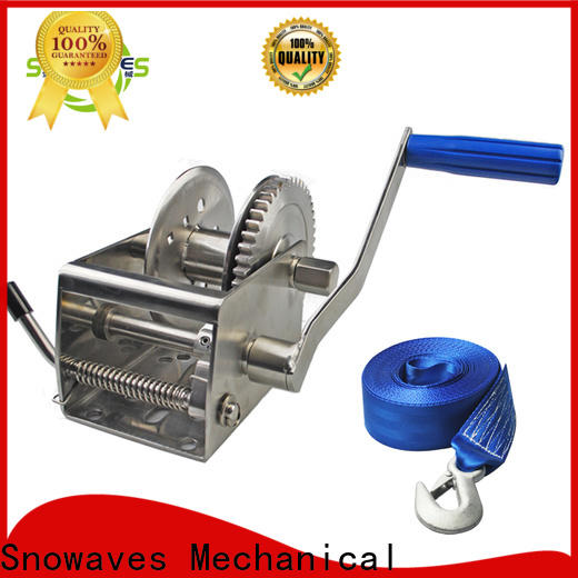 Snowaves Mechanical Top marine winch for sale for trips