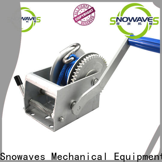 Snowaves Mechanical manual trailer winch company for boat